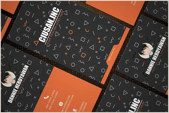 Vertical Business Card Layout Creative Vertical – Business Card