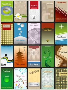 Vertical Business Card Layout Vertical Business Card Free Vector 25 440 Free