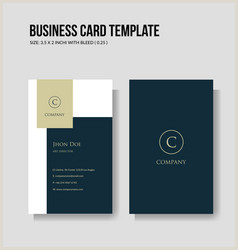 Vertical Business Card Layout Vertical Business Card Vector Over 10 000