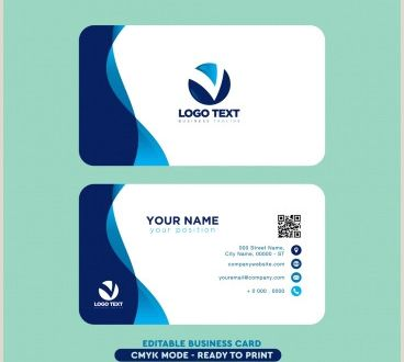 Visit Card Samples Visiting Card Design Free Vector 14 003 Free