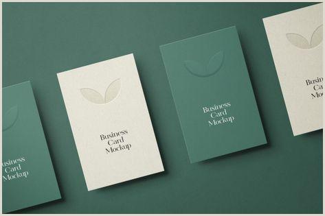 Visitcard Design 21 New Best Stationery Mockups Graphics Design