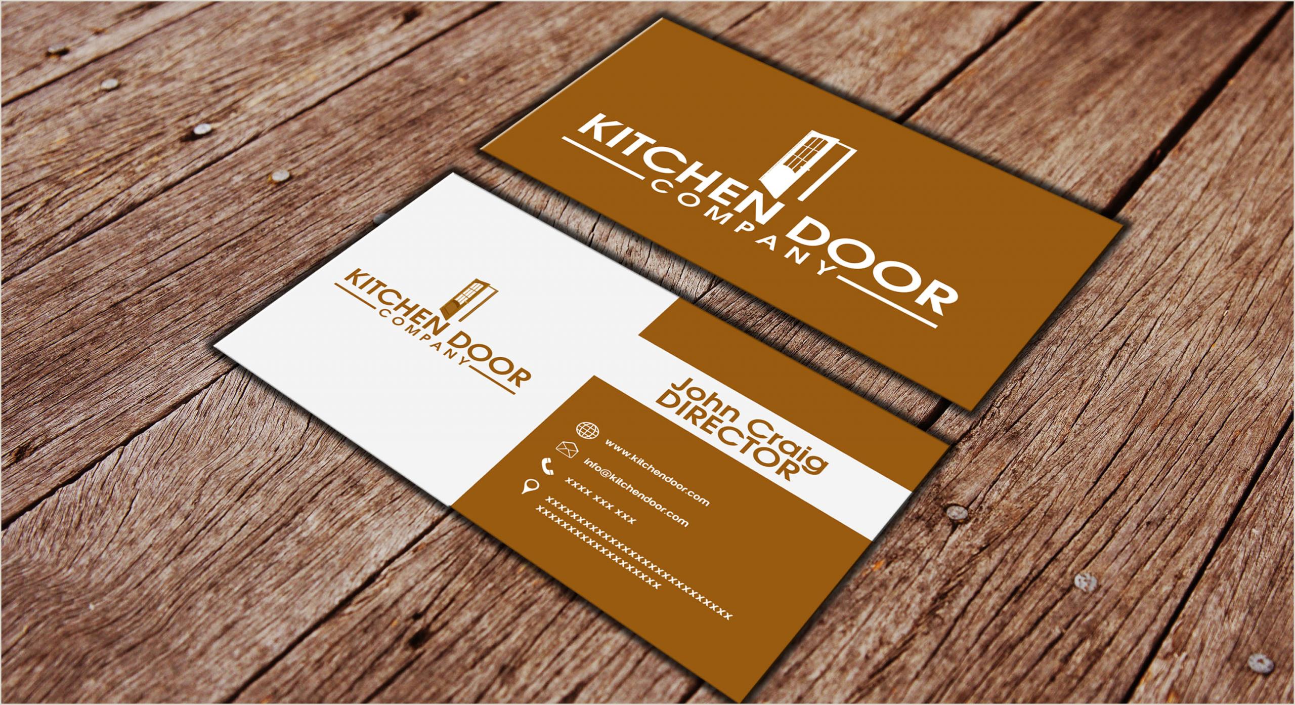 Visitcard Design Doors Pany Name & Garage Door Repair Pany