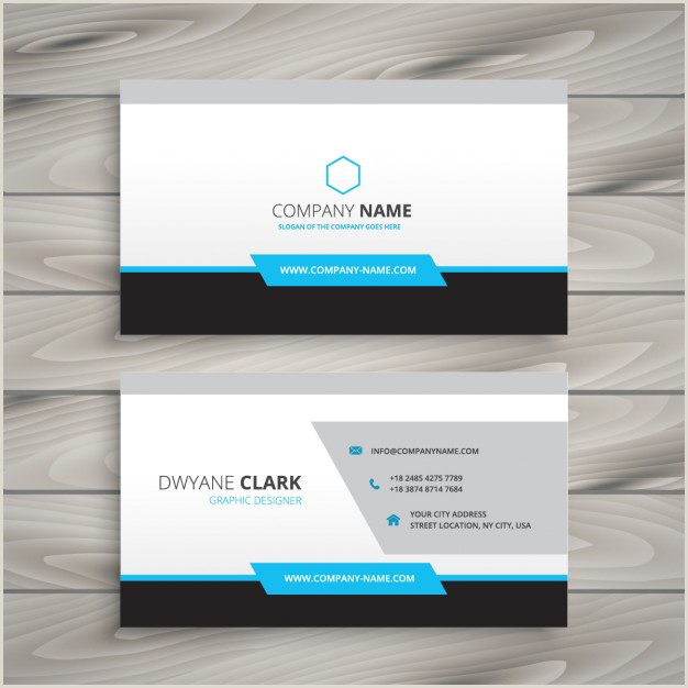 Visitcard Design Download Vector Pany Card With Floral Details