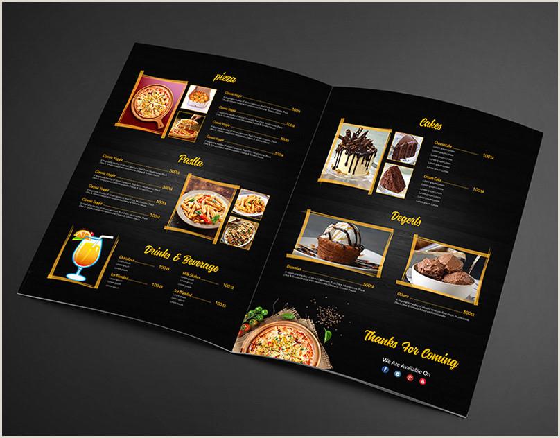 Visitcard Design Restaurant Menu Maker