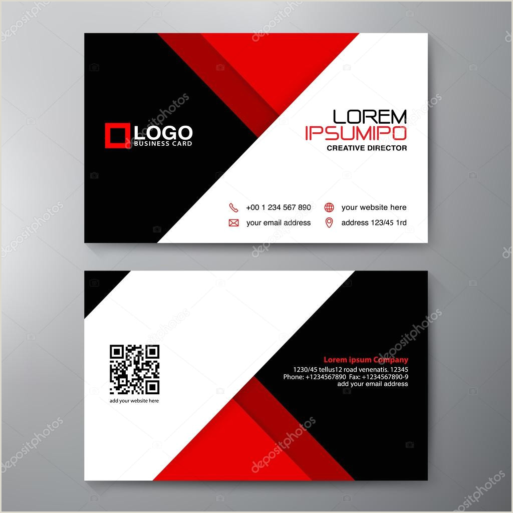 Visiting Card Designs Modern Business Card Design Template