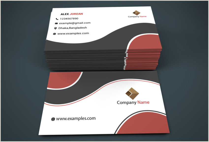 Visiting Card Templates 18 Free Unique Business Card Designs Top Templates To