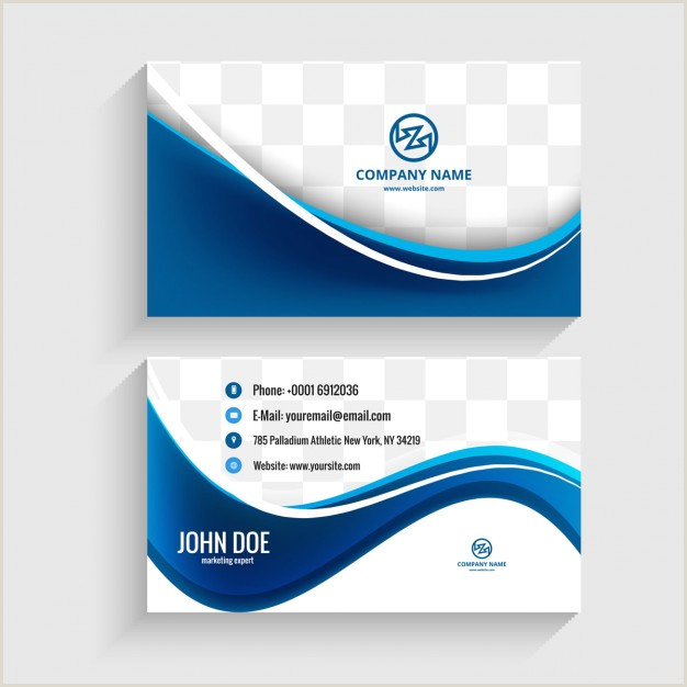 Visiting Cards Design Download Vector Modern Visiting Card Design Vectorpicker