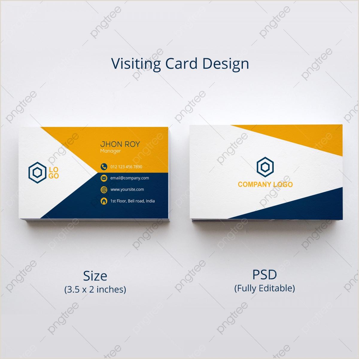 Visiting Cards Design Visiting Card Design Png