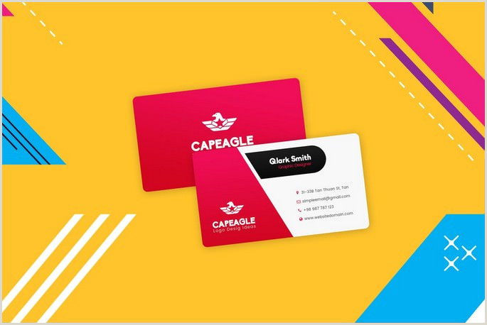 Visiting Cards Designing 30 Best Visiting Card Designs Templates 2020 Templatefor