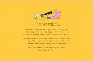 Visitng Card Montreal Espace Pour La Vie Cards