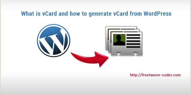 We Appreciate Your Business Cards Vcard What is It and How to Generate Vcard From Wordpress