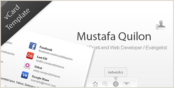 Website Business Card HTML Business Card Website Templates From Themeforest