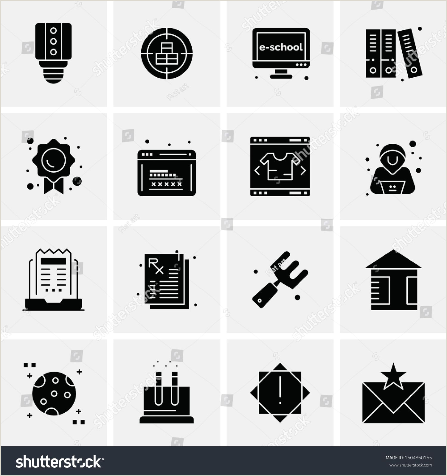 Website Icon For Business Card 16 Universal Business Icons Vector Creative Icon