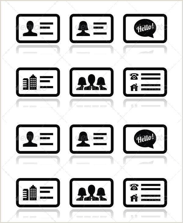 Website Icon For Business Card 8 Business Card Icons Designs Templates