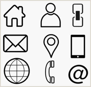 Website Icon For Business Card Business Card Icons Png Transparent Business Card Icons Png