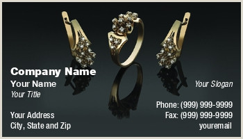 What Is The Best Business Cards Design For Jewelry Jewelry Business Cards
