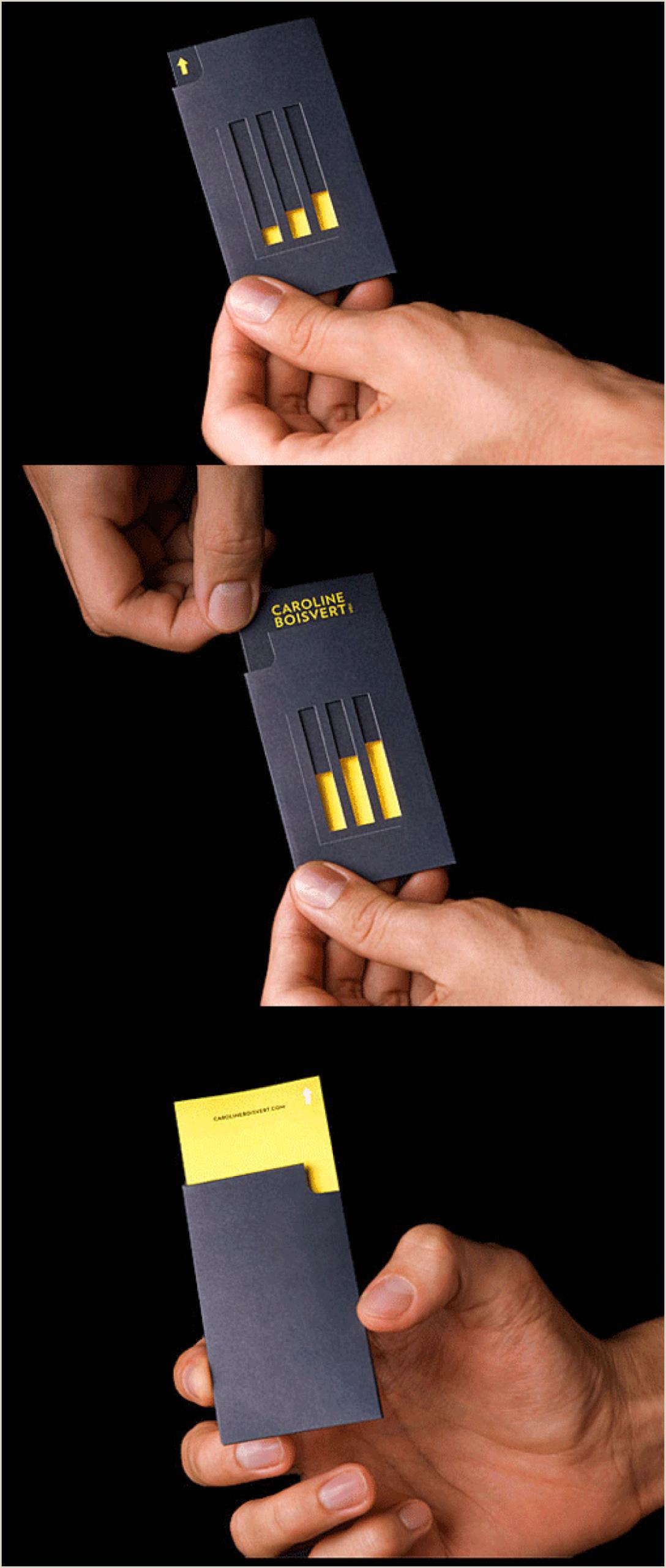 What Makes Business Cards Unique 30 Unconventional Business Cards