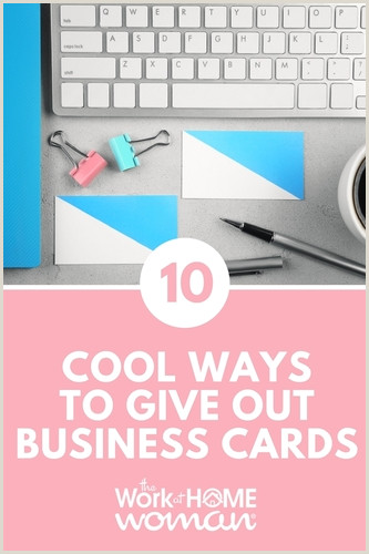 What Should You Put On A Business Card 10 Cool Ways To Give Out Your Business Cards
