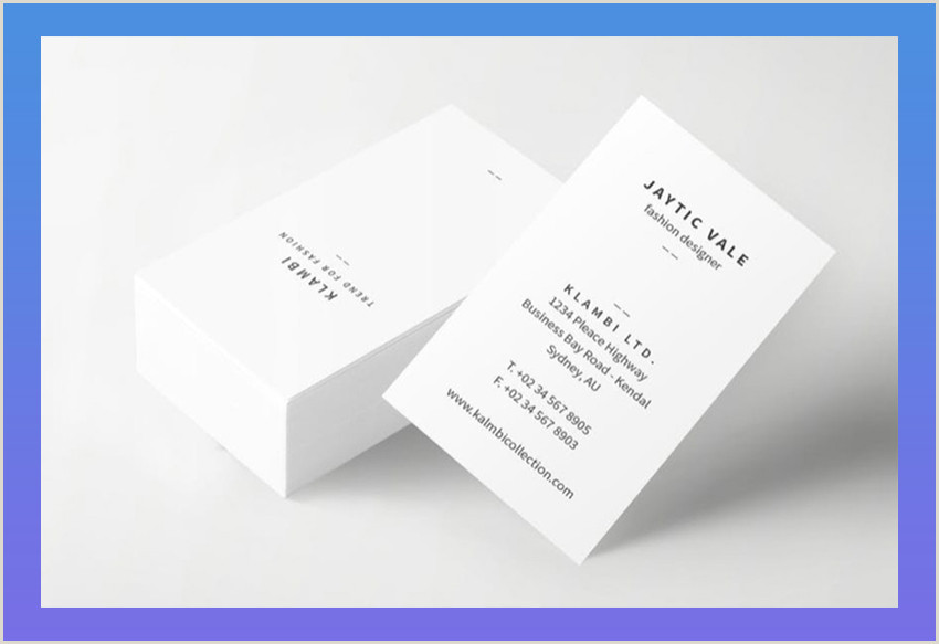 What Should You Put On A Business Card What To Put On Your Personal Business Card Best Examples