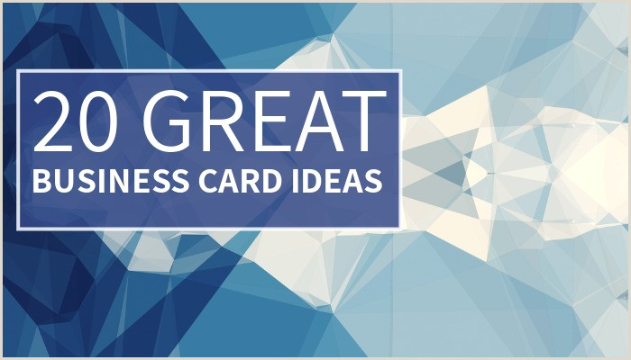 What To Have On A Business Card 20 Great Business Card Ideas Design Wizard