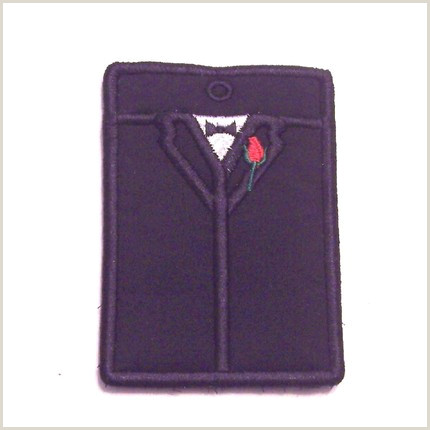 What To Include In Business Card Embroidered Tuxedo Gift Card Or Business Card Holder Key Chain