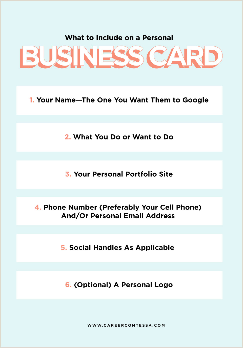 What To Include On A Personal Business Card What To Put On A Personal Business Card A Template