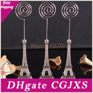 What to Put On Business Card Wedding Gift 16 5cm Paris Eiffel tower Card Holders Brozen