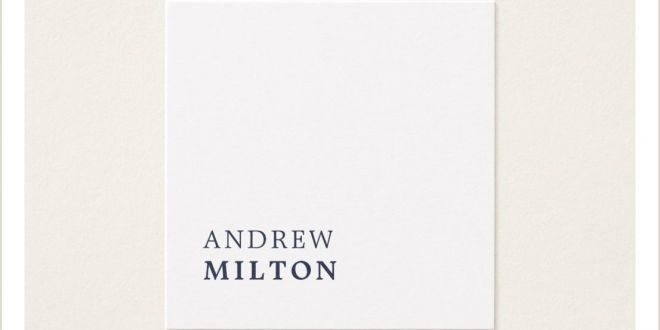 Where Can I Get Business Cards Made Same Day Professional Minimalist Navy Blue White Consultant Square