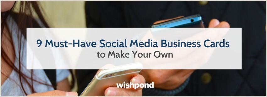 Where Do I Find Social Media Images For Business Cards 9 Must Have Social Media Business Cards To Make Your Own