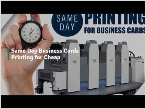 Where To Get Business Cards Made Same Day Same Day Business Cards Printing For Cheap 55printing