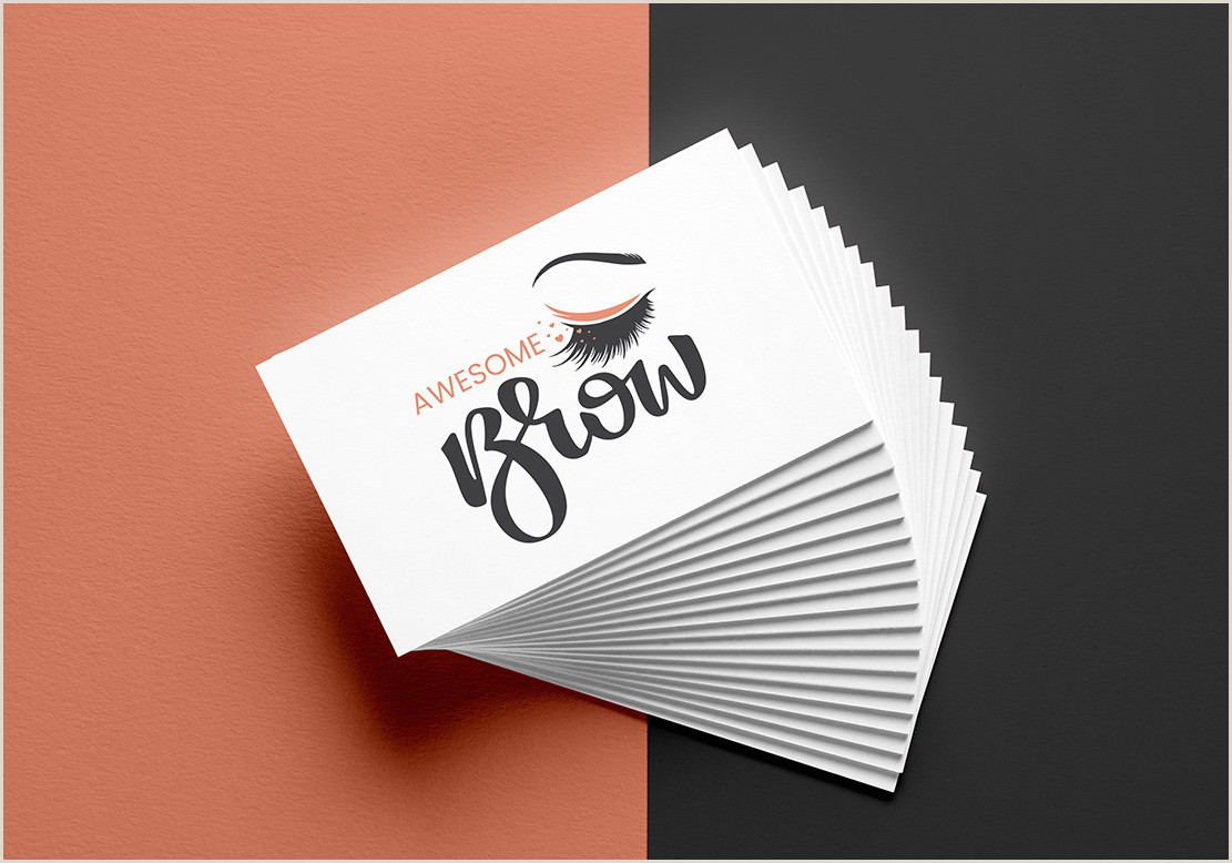 """Where To Print Business Cards Same Day E Stop Guide To """"business Card Design"""" Your First"""