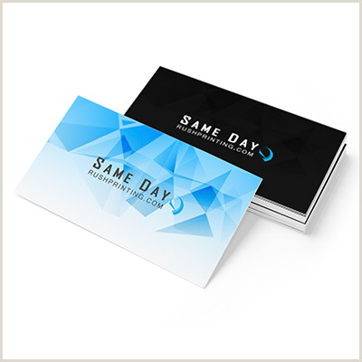 Where To Print Business Cards Same Day Standard Business Cards