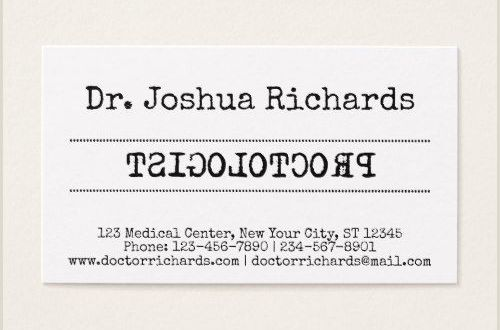 Where to Purchase Business Cards Funny Medical Doctor Customizable Business Card