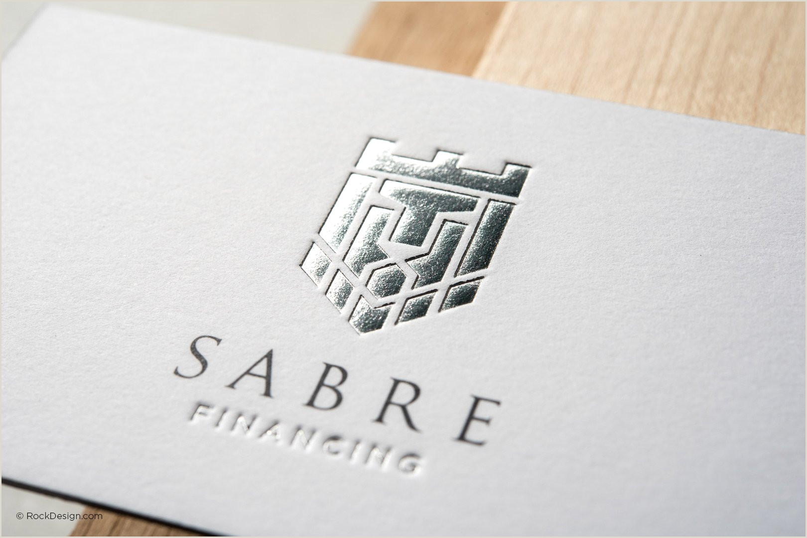 White Business Card Template Free Emboss & Foil Business Card Templates