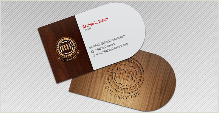 Why Unique Shape Business Cards Are Better Half Circle Business Card Design Custom Shaped Card Design