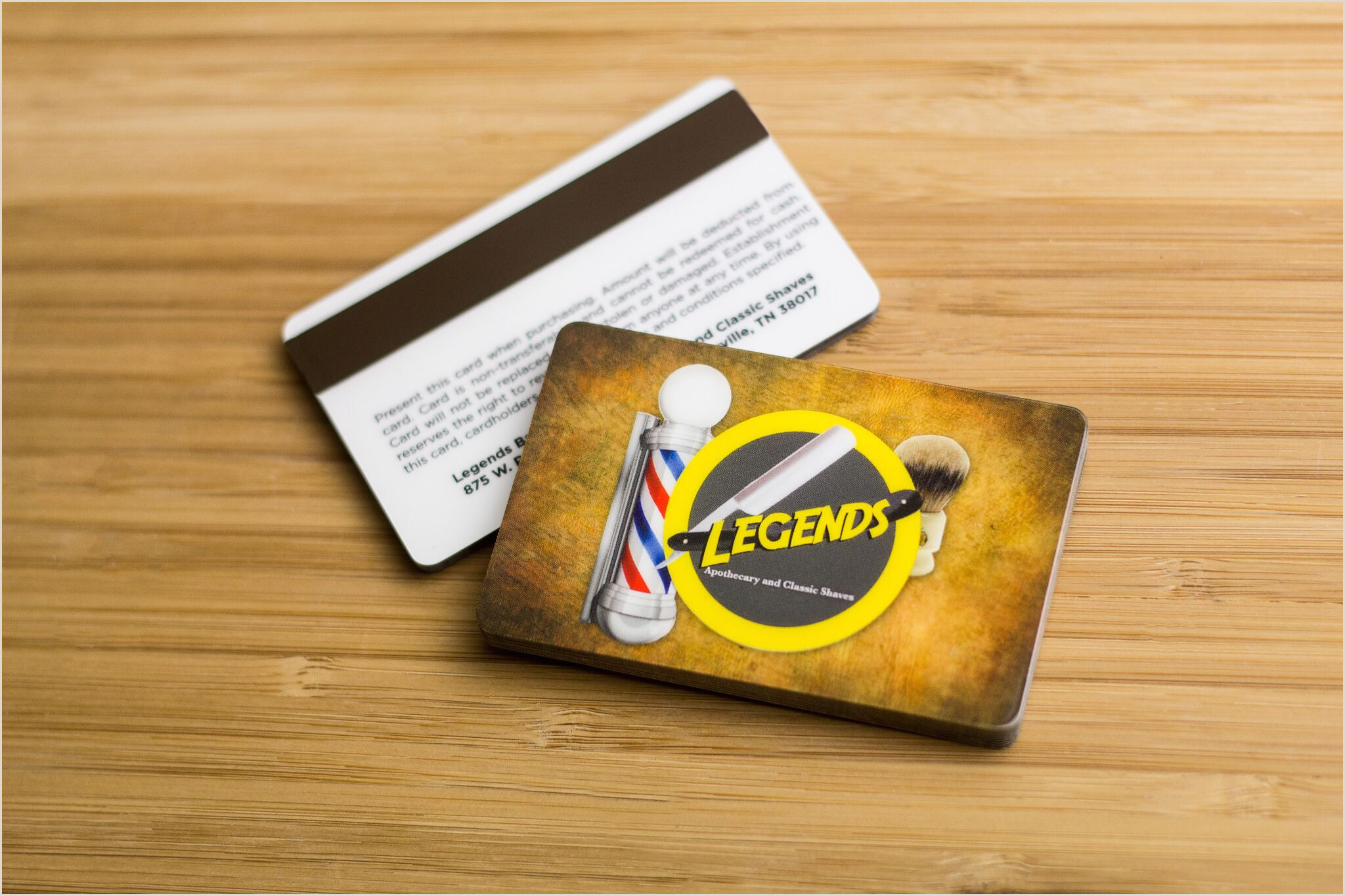 Why Unique Shape Business Cards Are Better Spa Gift Cards