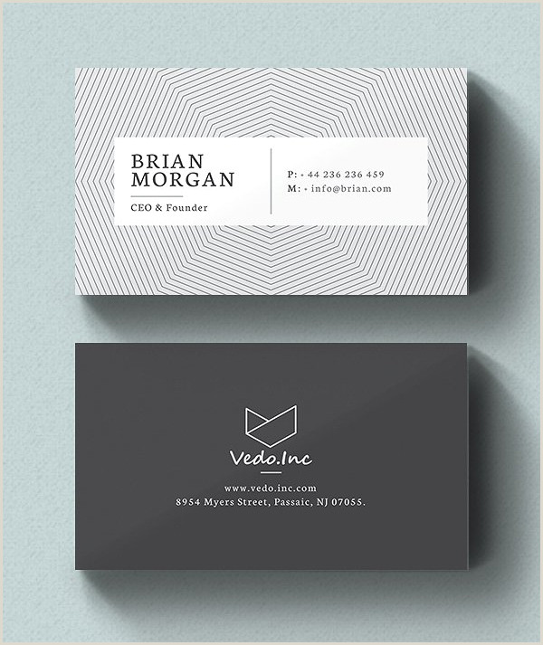 Word Templates For Business Cards 25 New Modern Business Card Templates Print Ready Design
