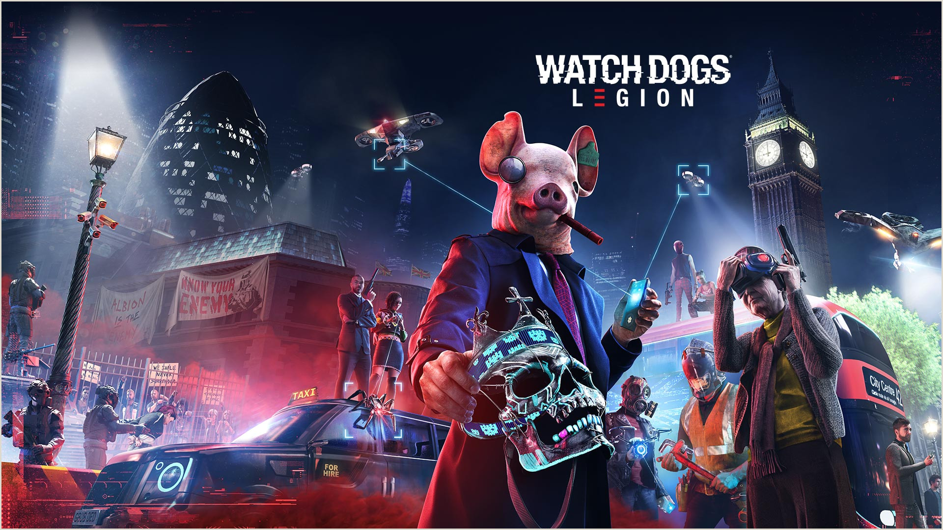 Your Personality Is Your Business Card Watch Dogs Legion